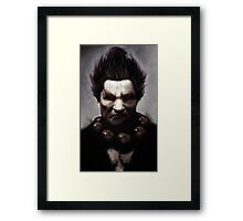 Old and Angry Framed Print