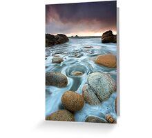 Cornwall : Cornish Swirls Greeting Card