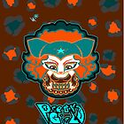 Mizz K Pretty Girls teal n orange by Utilicon