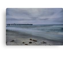 Washed Ashore (HDR) Canvas Print