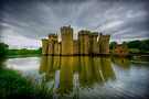 Bodiam Castle by Fern Blacker