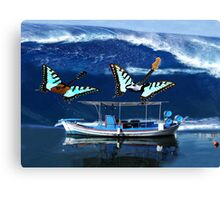 I Guess That's Why They Call It The Blues Rocks Canvas Print