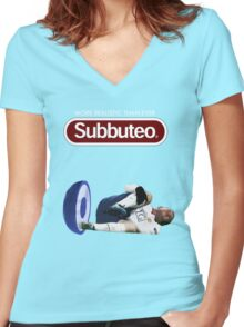 Subbuteo - More realistic than ever Women's Fitted V-Neck T-Shirt