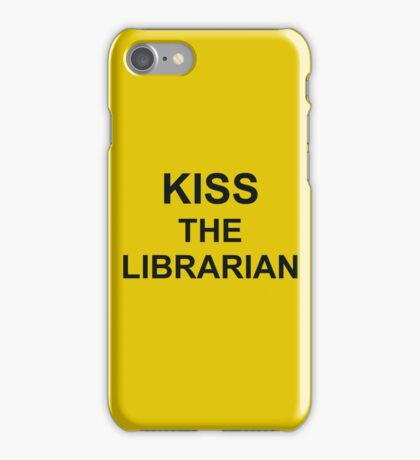 Kiss The Librarian iPhone Case/Skin