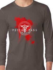 Psycho-Pass Logo Long Sleeve T-Shirt