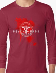 Psycho-Pass Logo Long Sleeve T-Shirt