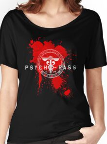 Psycho-Pass Logo Women's Relaxed Fit T-Shirt