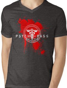 Psycho-Pass Logo Mens V-Neck T-Shirt
