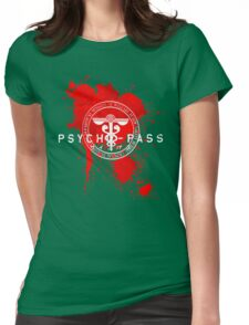 Psycho-Pass Logo Womens Fitted T-Shirt