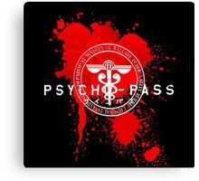 Psycho-Pass Logo Canvas Print