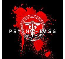 Psycho-Pass Logo Photographic Print