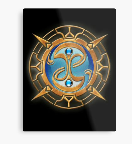 The Guild Seal (Fable) Metal Print