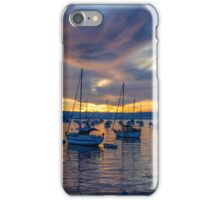 SAN DIEGO HARBOR SUNSET iPhone Case/Skin