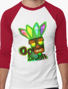 'OOBIDIGAH' Men's Baseball ¾ T-Shirt