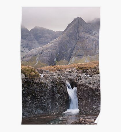 Fairy Pools and the Black Cuillin Poster