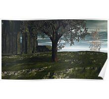 Last Mangrove In Trefegnar Swamp Poster