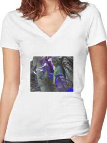 Angel Women's Fitted V-Neck T-Shirt