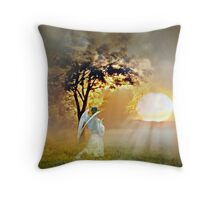 Love Divine Throw Pillow