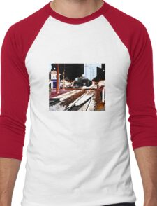 train Men's Baseball ¾ T-Shirt