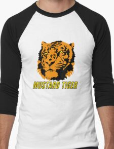 Mustard Tiger Men's Baseball ¾ T-Shirt