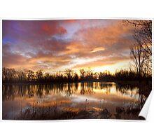Crane Hollow Sunrise Boulder County Colorado Poster