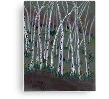 spring birches Canvas Print