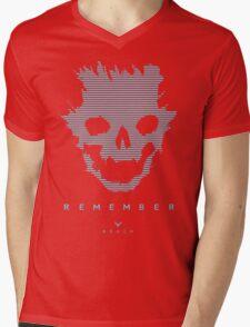 Emile-A239 Mens V-Neck T-Shirt