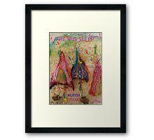 THE BIG SLEEP ~ AUSTIN TEXAS COMPETITION ENTRY - SXSW Framed Print