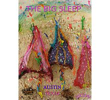 THE BIG SLEEP ~ AUSTIN TEXAS COMPETITION ENTRY - SXSW Photographic Print
