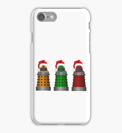 Christmas Daleks iPhone Case/Skin