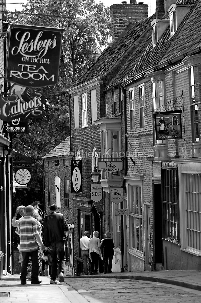 Steep Hill, Lincoln by Stephen Knowles