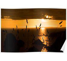 wild atlantic way sunset  Poster