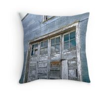 Dilapidated Throw Pillow