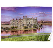 Leeds Castle Poster