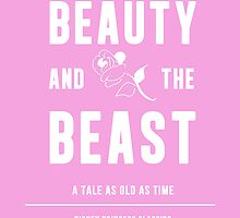 Disney Princesses: Beauty and the Beast Minimalist by ofalexandra