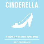 Disney Princesses: Cinderella Minimalist by ofalexandra