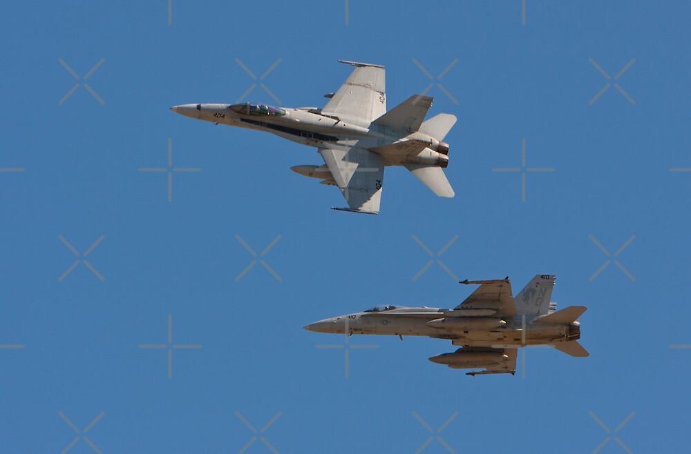 F 18 going into the Break by Buckwhite