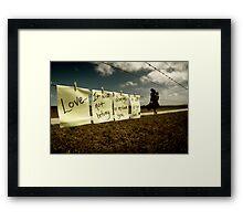 Set Free Framed Print