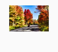 Colorful Bike Ride - Impressions Of Fall Unisex T-Shirt