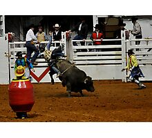 Bullfighters to the rescue Photographic Print