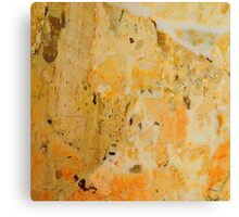 Yellow Marble 2 Canvas Print