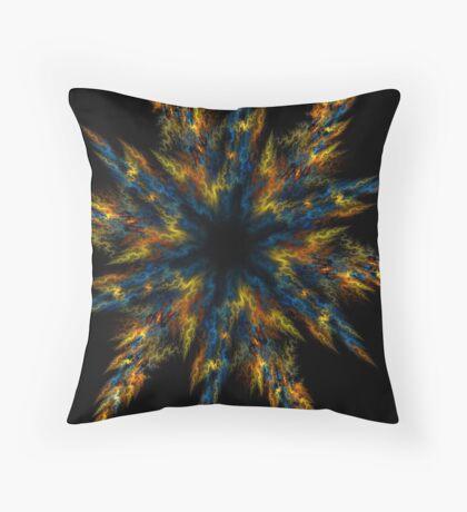 Blue Star Throw Pillow