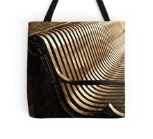 City Bench, Sepia Tone Tote Bag