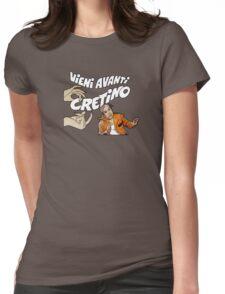 Vieni Avanti Cretino Womens Fitted T-Shirt