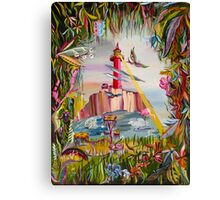 """Fantasy World Lighthouse""© Canvas Print"