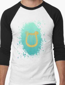 Lyra's Cutiemark Men's Baseball ¾ T-Shirt