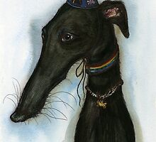 "The love from a hound is like a ""Happy Birthday"" every day by Elle J Wilson"