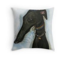 """The love from a hound is like a """"Happy Birthday"""" every day Throw Pillow"""