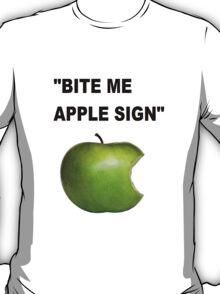 Apple Sign T-Shirt