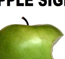Apple Sign Sticker